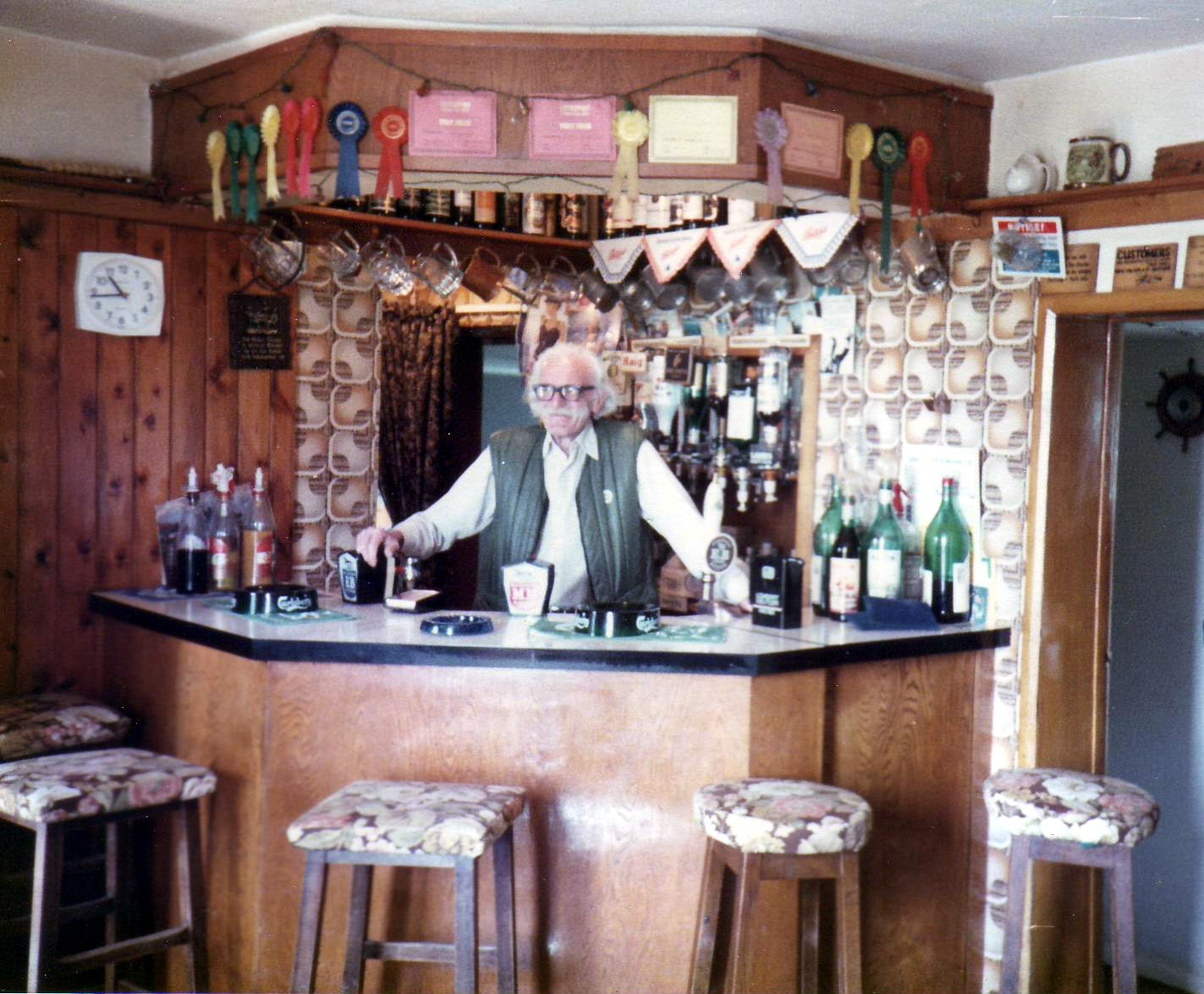 best pubs Waring-john-behind-bar